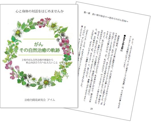 子宮頚癌体験談・闘病記 小冊子